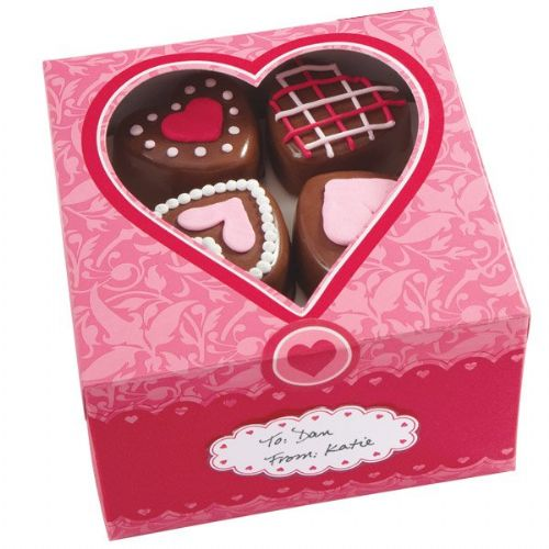 Valentine Treat Boxes - 3 Boxes